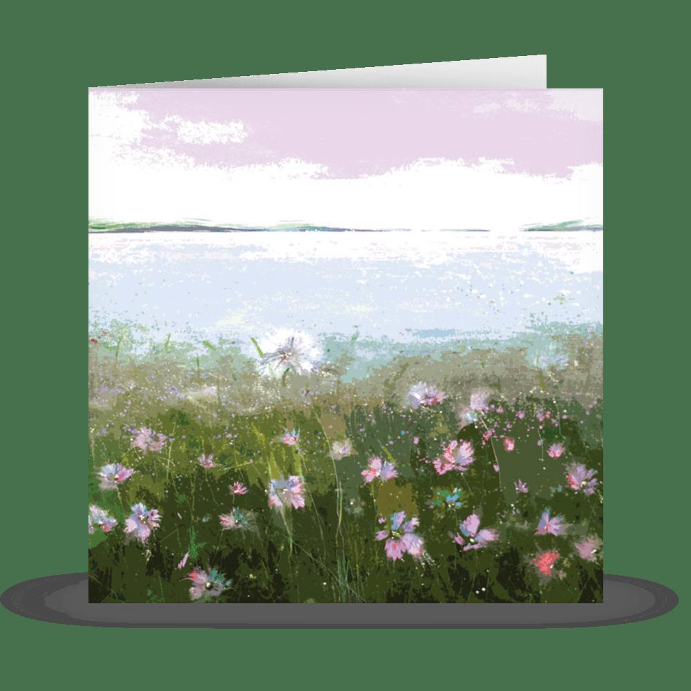 'cornflower pink' Card