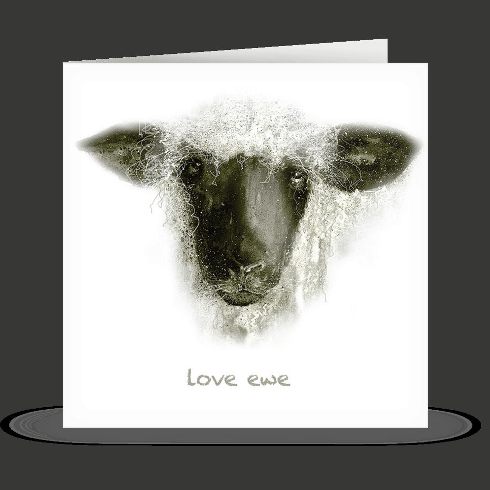 'love ewe' Card