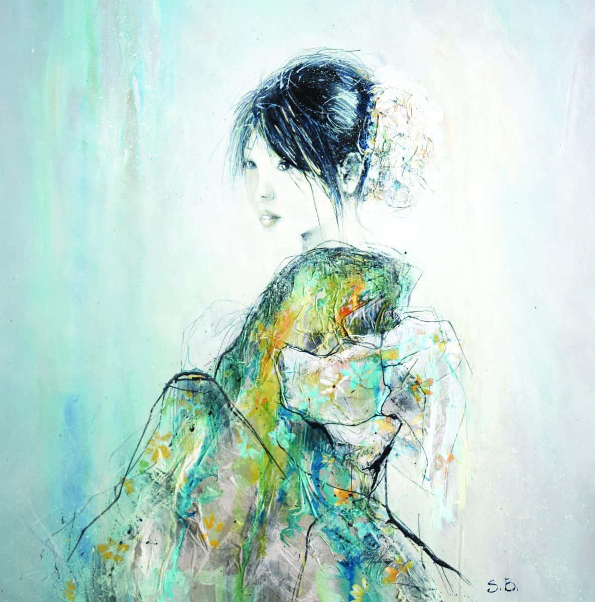 Maiko Painting