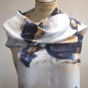 Comptenplation Silk Scarf