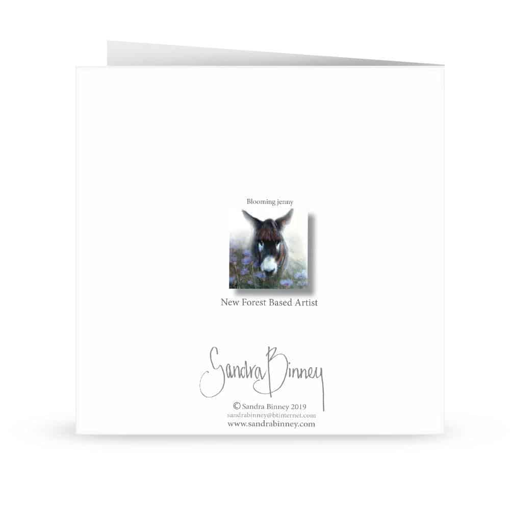 'blooming Jenny' Card
