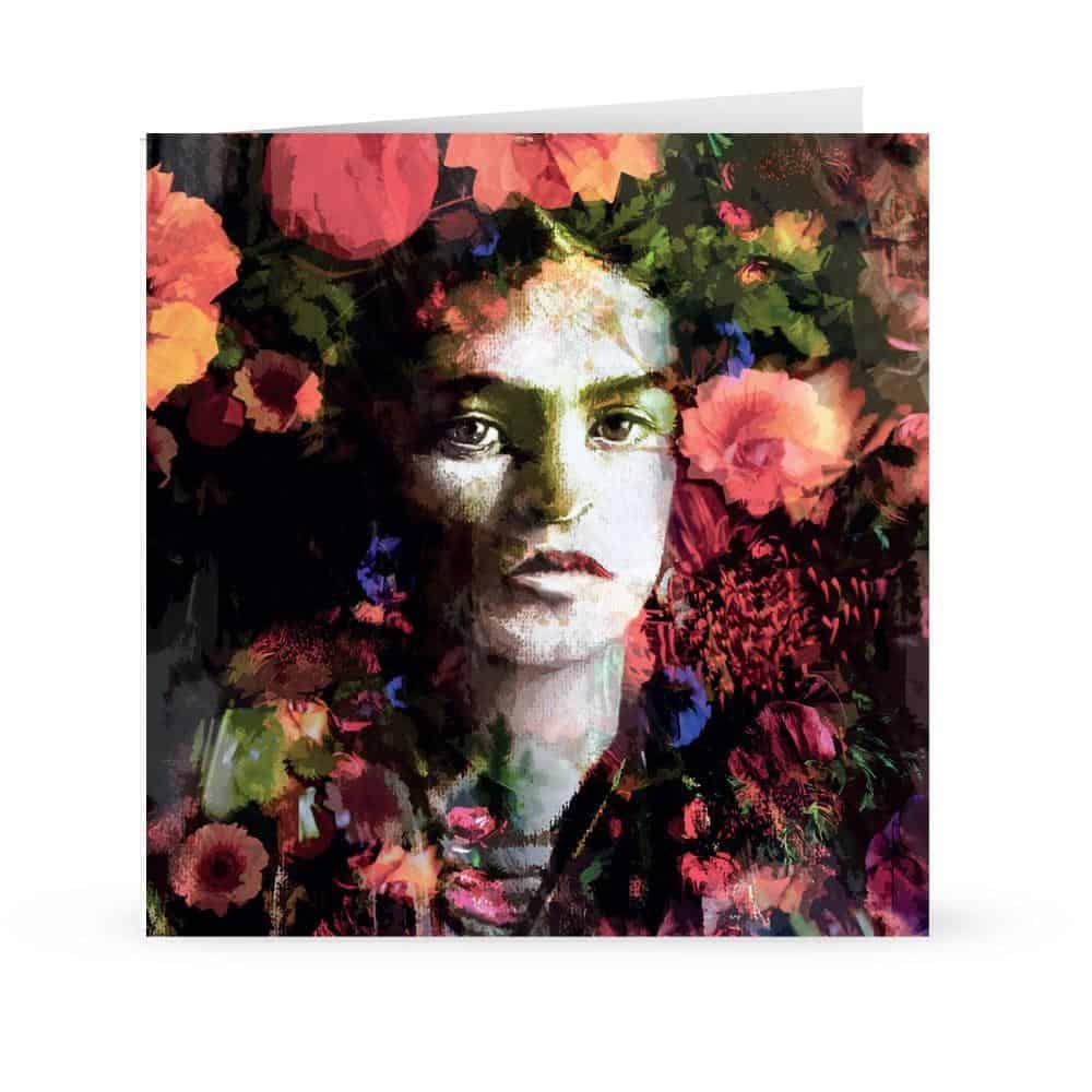 'frida in bloom'' Card