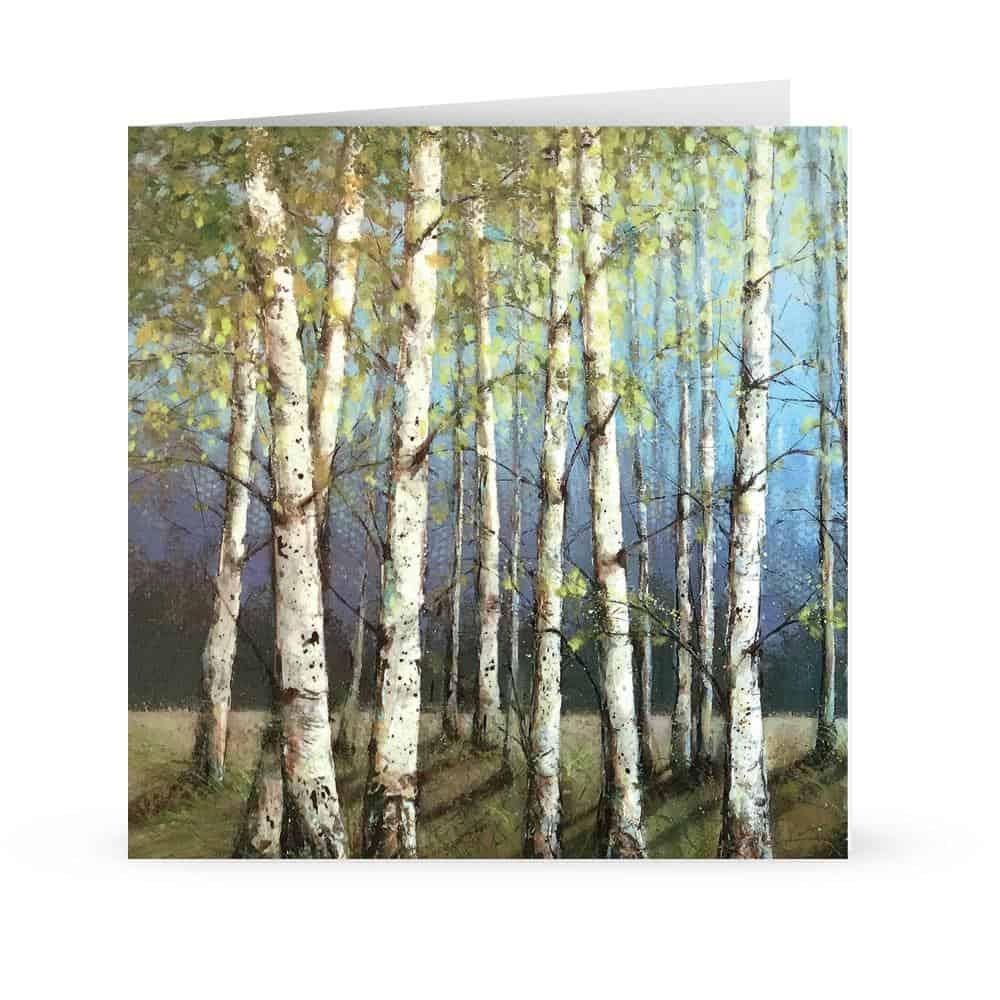 'Ladies of the wood' Card