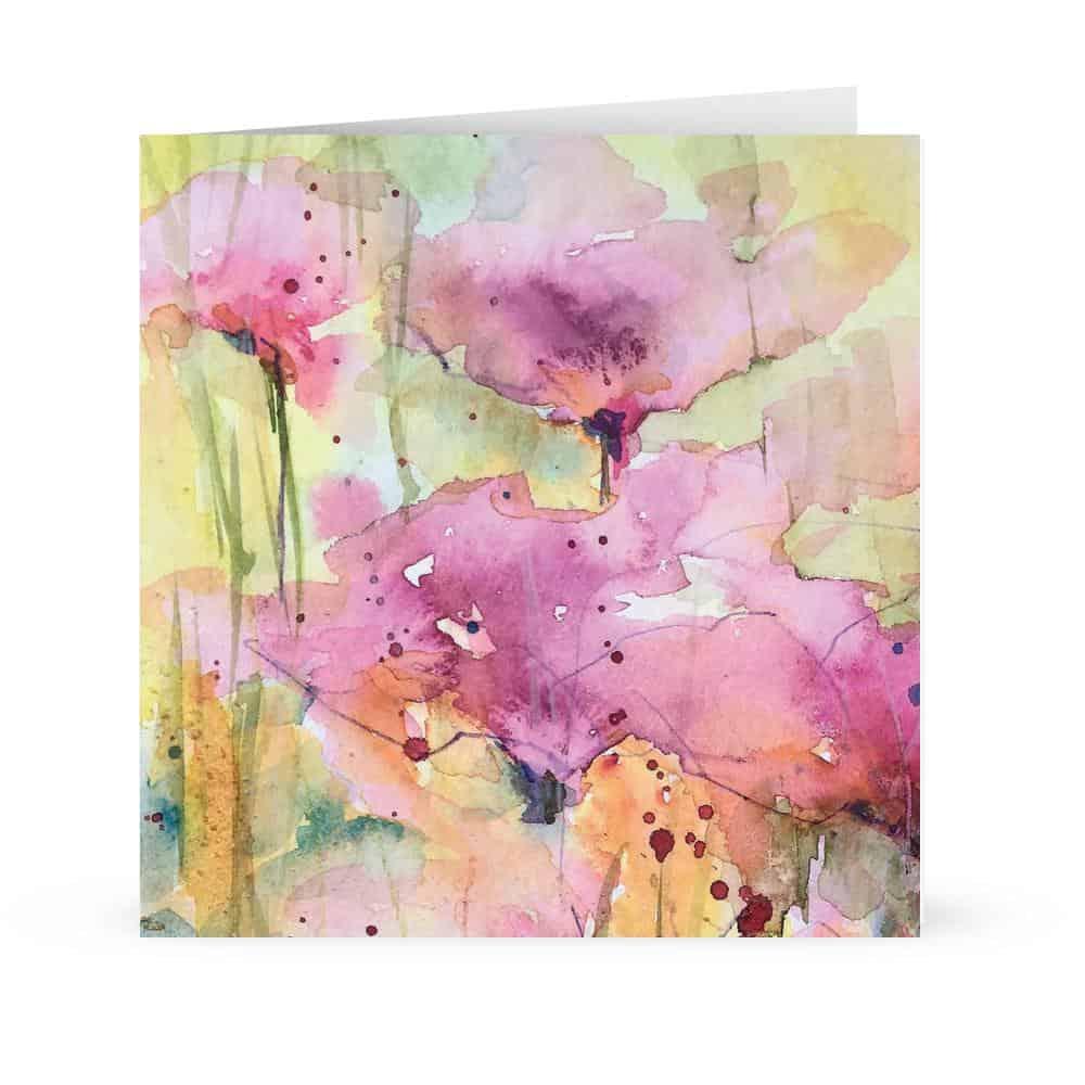 summer hues Card