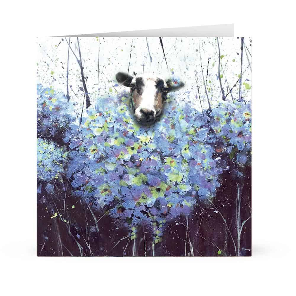 Bloomin sheepish
